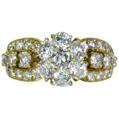 Van Cleef & Arpels Diamond 'Fleurette' Ring