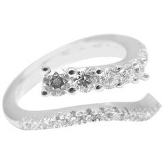 Damiani Eden Diamond White Gold Band Ring