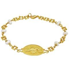 Cupid Pearl Bracelet