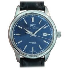 IWC Stainless Steel Vintage Ingenieur Laureus Ltd Ed Sport Automatic Wristwatch