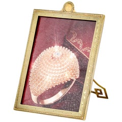 Cartier Deco Gold Picture Frame Picture Frame