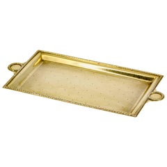 Cartier Retro Gold Rectangular Small Tray