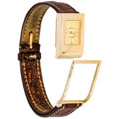 Tiffany & Co. Schlumberger Yellow Gold quartz Wristwatch
