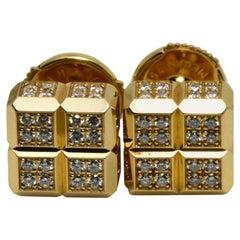 Chopard Diamond Ice Collection Earrings