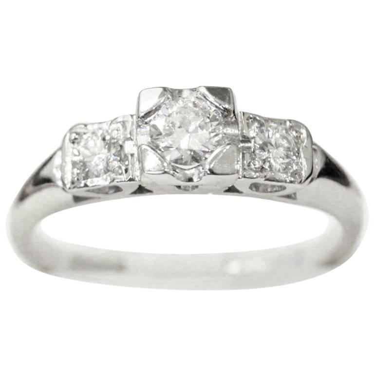 Natural Black Diamond Engagement Rings