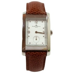 Baume & Mercier Stainless Steel Hampton Quartz Wristwatch