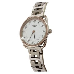 Hermès Clipper Ladies Stainless Steel Quartz Wristwatch
