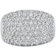 Jye's Right Hand Gold Platinum and Diamond Ring