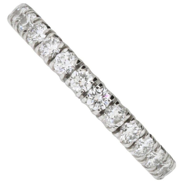 Etincelle Bands: Etincelle De Cartier Diamond Wedding Band At 1stdibs