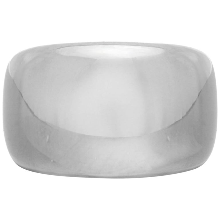 Cartier Nouvelle Vague White Gold Dome Ring