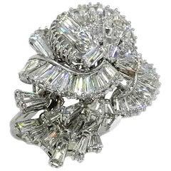 Diamond 9.84 Masterpiece Ring, circa 1960