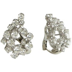 Earring in Diamonds 6.66 La Dolce Vita Period