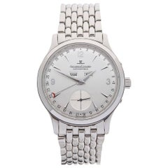 Jaeger Lecoultre Stainless Steel Master Control Automatic Wristwatch