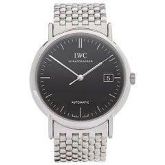 IWC Stainless Steel Portofino Automatic Wristwatch, 2000s