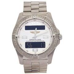 Breitling Titanium Areospace Quartz Wristwatch, circa 2010s