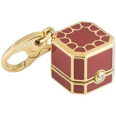 Cartier Yellow Gold Box Charm