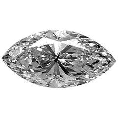 Marquis Diamond 2.01 Carat VS-1, D GIA, Rare