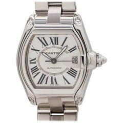Cartier Stainless Steel Roadster automatic wristwatch, circa 2000s