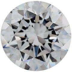 1.50 Carat D VS1 Round Brilliant Diamond GIA Certified for Ring or Pendant
