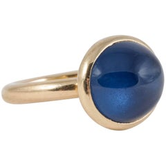 Chaumet Ring Mount Set with Cabochon Star Sapphire