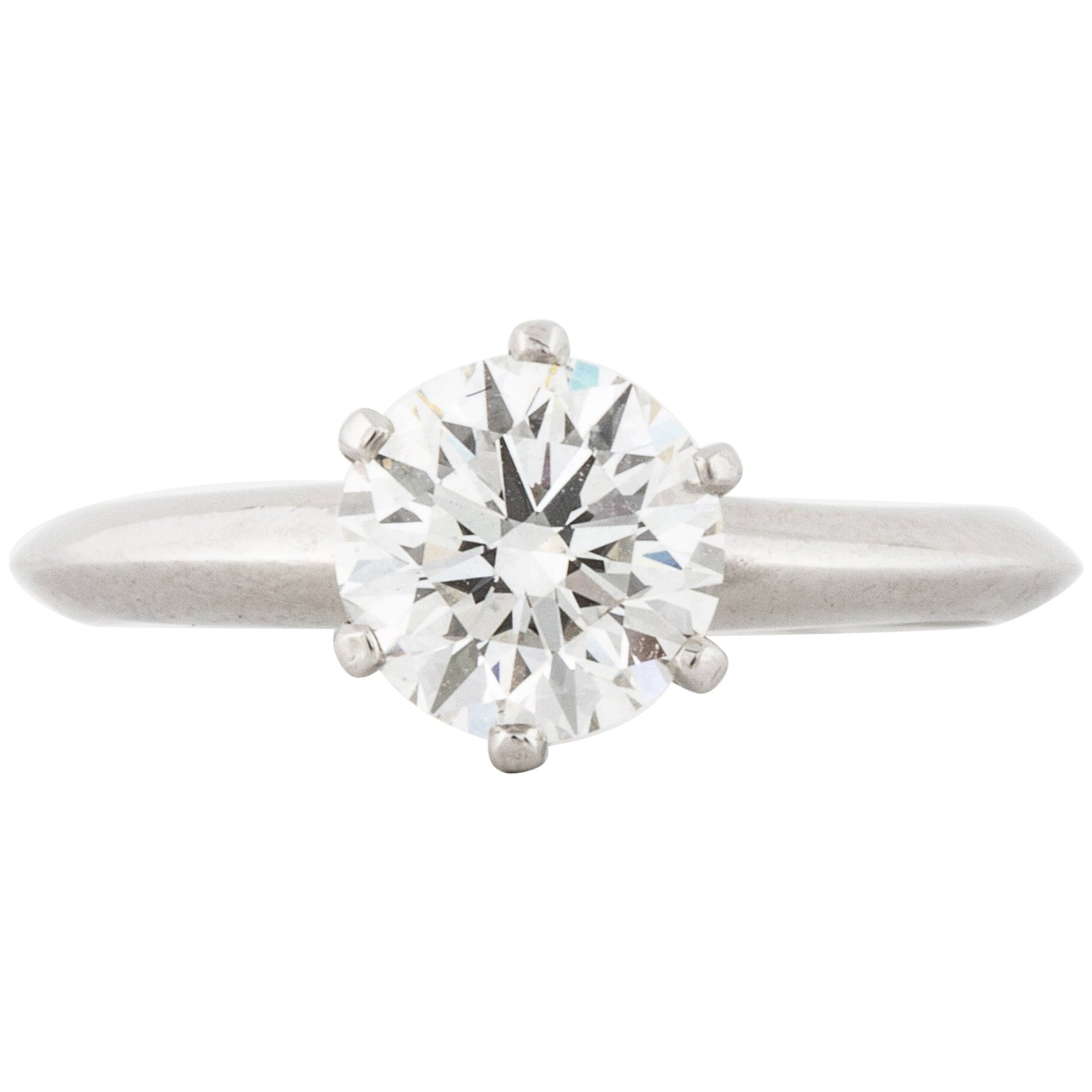Tiffany & Co. 1.13 Carat Diamond Solitaire Ring