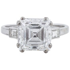 Tiffany & Co. Emerald Cut Diamond Ring