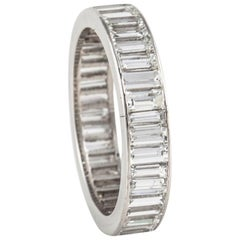 Van Cleef & Arpels Platinum Diamond Eternity Band