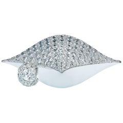 Towe Norlen Star Pillow 3.71 Carat Contemporary Diamond Pendant