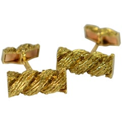 Van Cleef & Arpels 1970s Gold Cufflinks