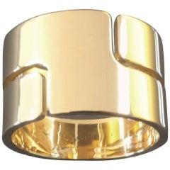 Dinh Van Modern Retro 'Seventies' Gold Ring