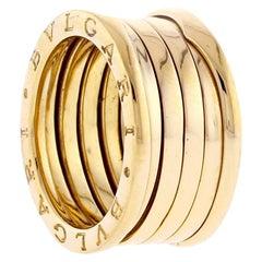 Bvlgari B.zero1 Gold Five-Band Ring