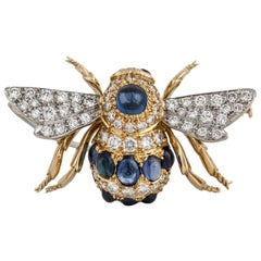 E. Wolfe & Sons Diamond Bee Pin