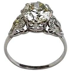 IGR Certified 3.00 Carat Diamond Ring