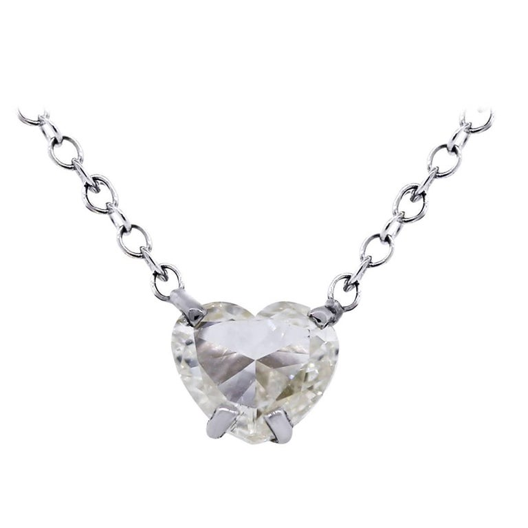102 carat heart shape diamond pendant necklace for sale at 1stdibs 102 carat heart shape diamond pendant necklace for sale aloadofball Gallery