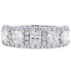 2.24 Carat Diamond Wedding Band