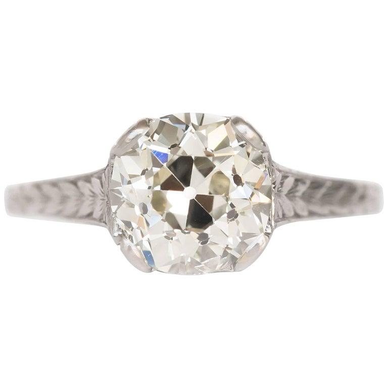1 62 carat platinum engagement ring for sale at