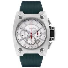 Wyler Titanium Limited Edition Rare Chronograph Automatic Wristwatch
