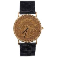 Corum 1904 Double Eagle Twenty Dollar Gold Coin Wristwatch