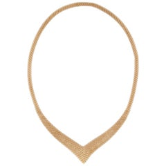Tiffany & Co. Peretti Mesh Necklace