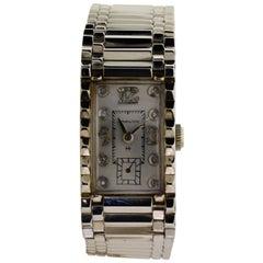 Hamilton White Gold Art Deco Manual Bracelet Wristwatch, 1940s
