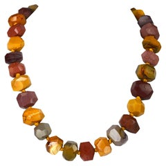 Decadent Jewels Australian Mookaite Nugget Necklace