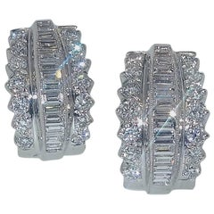 Fine Diamond Earrings
