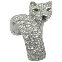 Diamond Panthere Cartier Ring