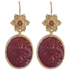 Emma Chapman Carnelian Earrings