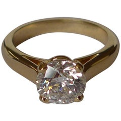 Diamond Solitaire Engagement Ring by Bonds of Union