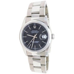 Rolex Stainless Steel Oyster Perpetual Datejust Automatic Wristwatch, 2001