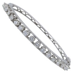 Vintage Diamond Bangle Bracelet