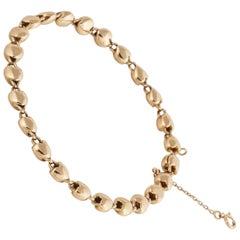 18 Karat Cartier Heart Bracelet