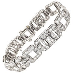 Art Deco Tiffany & Co. Diamond Platinum Bracelet
