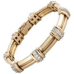 Tiffany & Co. 18 Karat Diamond Bracelet